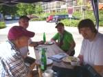 Mitten drin: BewohnerInnen der Wohngruppe Binger Strasse der Nieder-Ramstädter-Diakonie